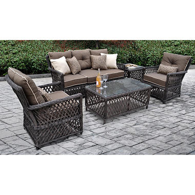 Renees 5 pc. Deep Seating Set with Premium Sunbrella® Fabric