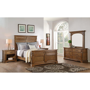 Provence Bedroom Set (Choose Size) - Sam\'s Club