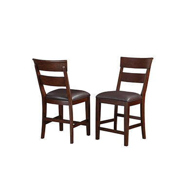 alden counter height bar stools 2 pack sam s club