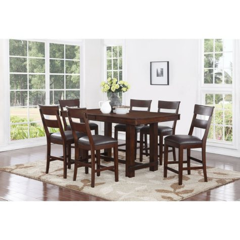 Alden Counter Height Dining Set (Assorted Sizes)