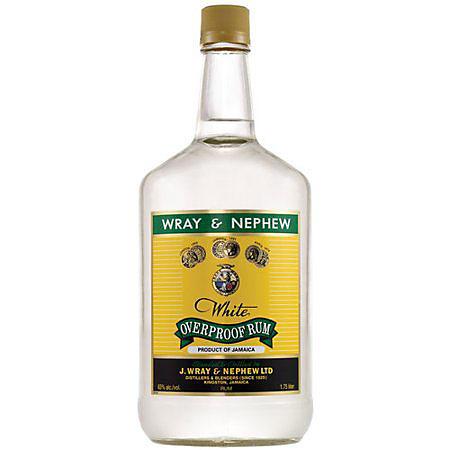 Wray & Nephew White Overproof Rum (1.75 L)