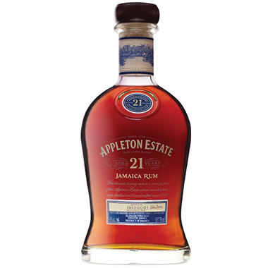 APPLETON ESTATE 21YR RUM 750ML