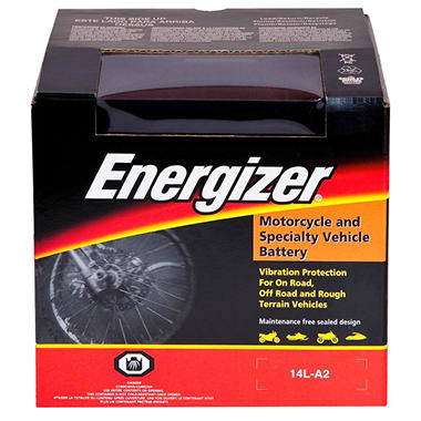 Energizer PowerSport Battery - Group Size 14LA2