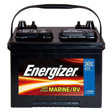 Energizer Deep Cycle Marine Battery - Group Size 24DC