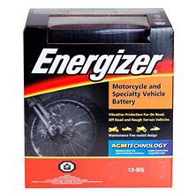 Energizer AGM PowerSport Battery - Group Size 12BS