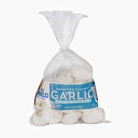 Whole Fresh Garlic Bulbs (2 lbs.)