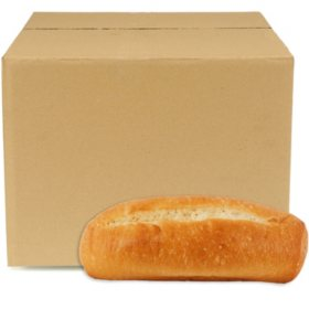 Case Sale: Regular White Hoagie Rolls (84 ct.)