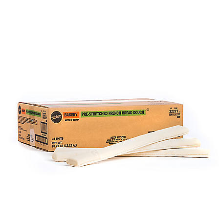 Pre-Stretched French Bread, Bulk Wholesale Case (24 ct.)