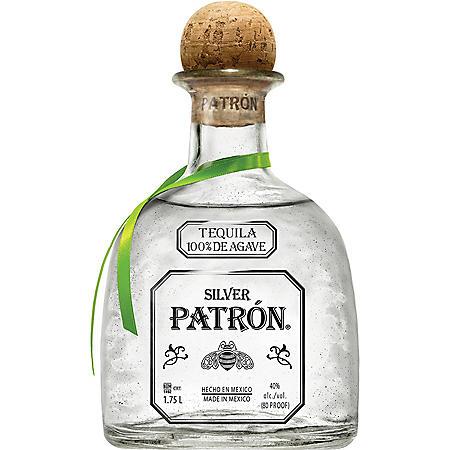 Patrón Silver Tequila (1.75 L)
