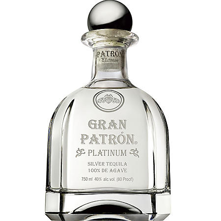 Gran Patrón Platinum Silver Tequila (750 ml)