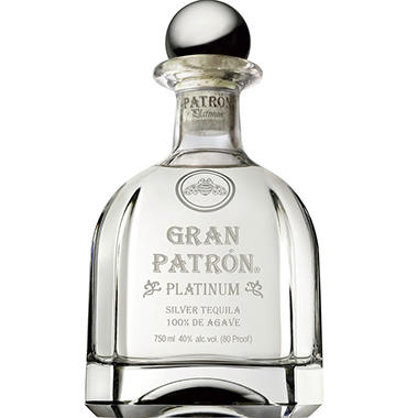 +PATRON TEQUILA GRAND PLATINUM 750ML