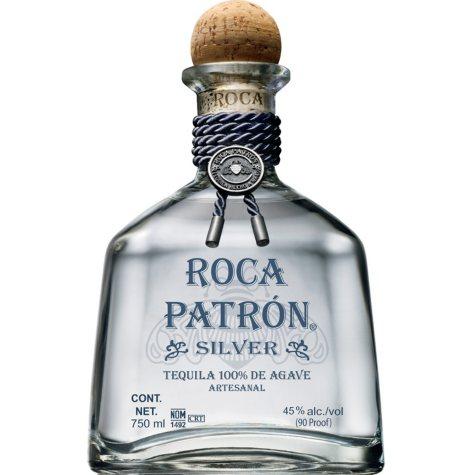 Roca Patron Silver Tequila (750 ml)