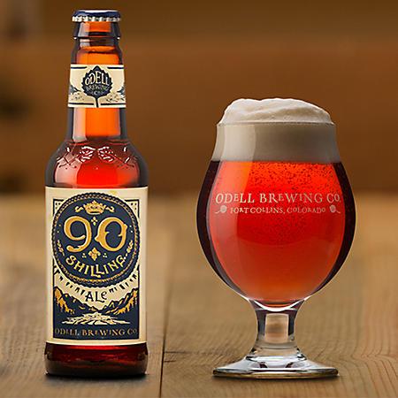 Odell 90 Shilling Ale (12 fl. oz. bottle, 12 pk.)