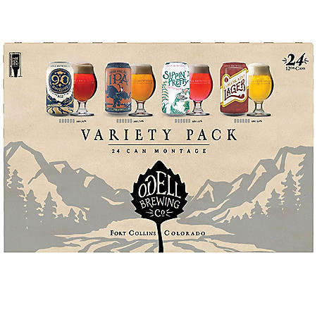 Odell Montage Variety (12 fl. oz. can, 24 pk.)