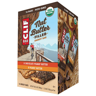CLIF Nut Butter Filled Bars (16 ct.)