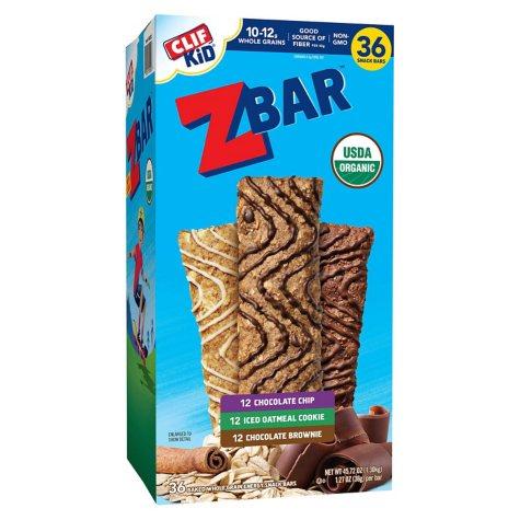 CLIF Kid ZBar (36 ct.)