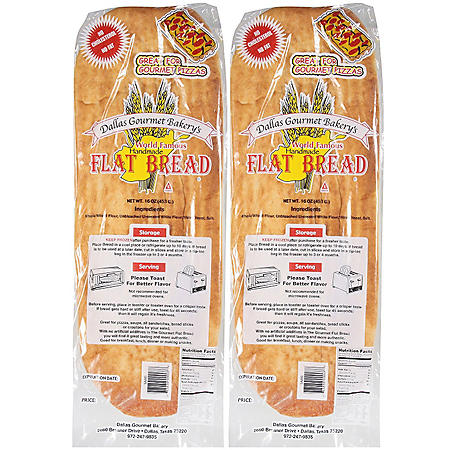 Dallas Gourmet Natural Bread - 16 oz. - 2 pk.
