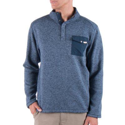 Woolrich Mens Sweater Fleece (Granite)