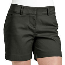 Designer Ladies Stretch Satin Tailored Short