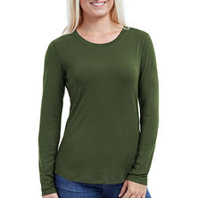 Eddie Bauer Long Sleeve Scoop Neck Cotton Modal Tee