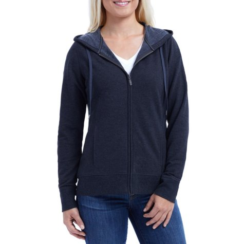 Eddie Bauer Women's Raglan Sleeve Front Zip Hoodie