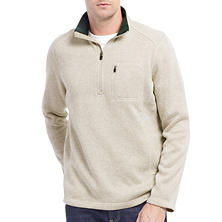 Designer Men's Angler 1/4 Zip Fleece Sweater