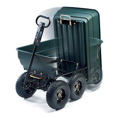 Delightful Gorilla Carts® Garden Dump Cart