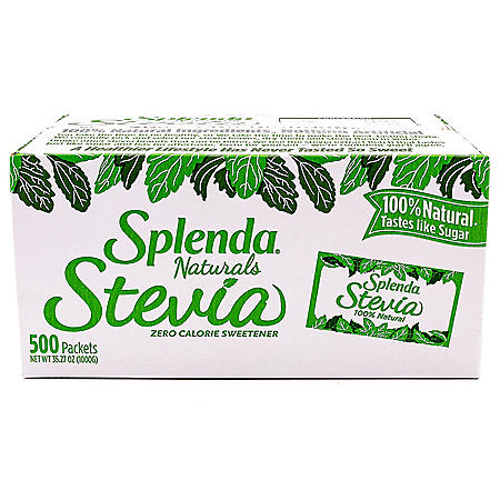 SPLENDA Naturals Stevia Sweetener Packets (500 ct.)