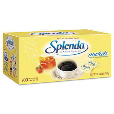Splenda - No Calorie Sweetener Packets - 700 Count