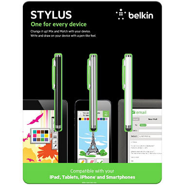 Belkin Presentation Display Quality Stylus 3-Pack Bundle