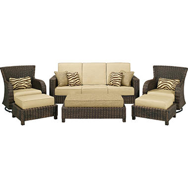 La Z Boy® Outdoor Serena 6 Pc. Deep Seating Set