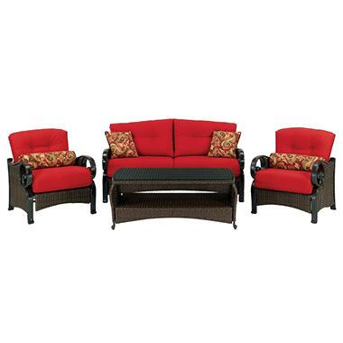 Isabella Deep Seating Set By La Z Boy 4 Pc