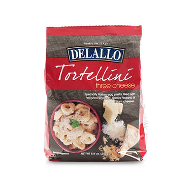 DeLallo Three-Cheese Tortellini (8.8 oz. pkg, 12 ct.)