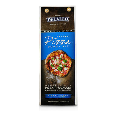 DeLallo Italian Pizza Dough Kit (17.6 oz., 10 ct.)