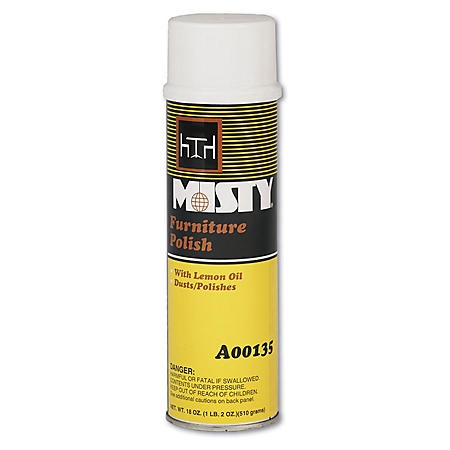 Misty Furniture Polish - 20 oz. - 12 pk.
