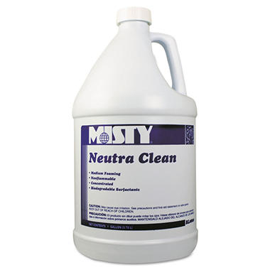 Misty Neutra Clean Neutral pH Cleaner - 1 gal. - 4 pk.