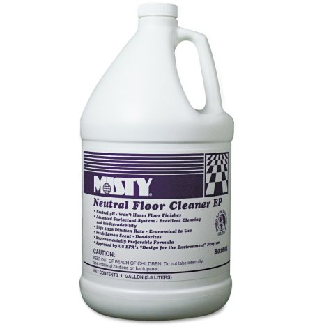 Misty Optimax Neutral Floor Cleaner - 1 gal. - 4 pk.