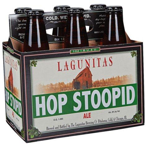 Lagunitas Hop Stoopid Ale (12 fl. oz. bottle, 6 pk.)