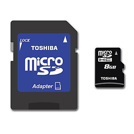 8GB MICROSD CARD 8GB MEMORY CAPACITY