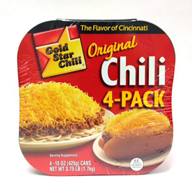 Gold Star Chili (15 oz., 4 pk.)