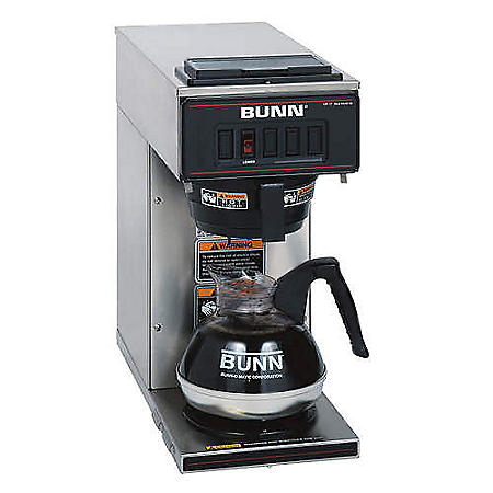 BUNN VP17-1 Low Profile Commercial Pour Over Coffee Maker
