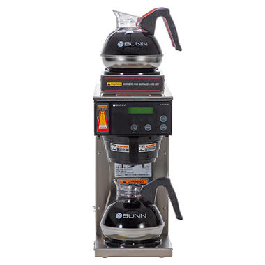 Coffee style vacuum makers