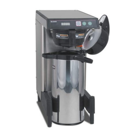 BUNN® CWTF15 Automatic Commercial Airpot Coffee Maker