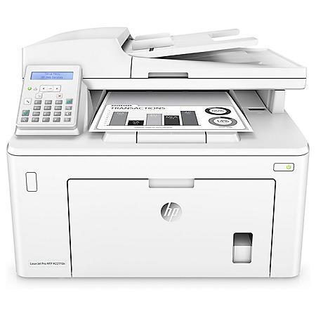 HP LaserJet Pro MFP M227fdn Multifunction Printer, Copy; Fax; Print; Scan