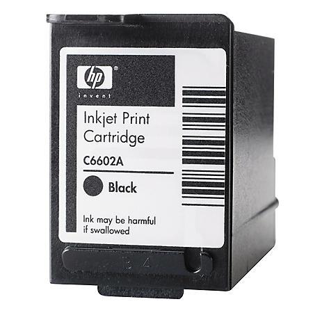 HP C6602A Original Ink Cartridge, Black