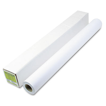 "HP Designjet Large Format Universal Bond, 4.2 mil, 36"" x 150 ft, White"