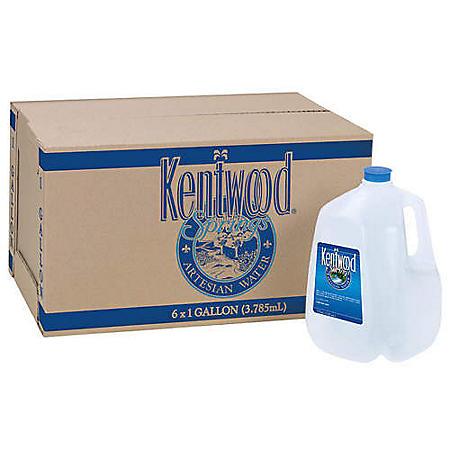 Kentwood Springs Artesian Water (1gal / 6pk)
