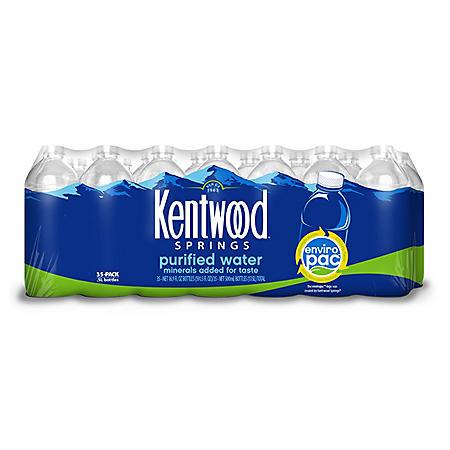 Kentwood Springs Purified Water (16.9oz / 35pk)
