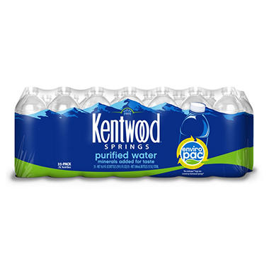Kentwood Springs Purified Drinking Water (16.9 oz., 35 ct.)
