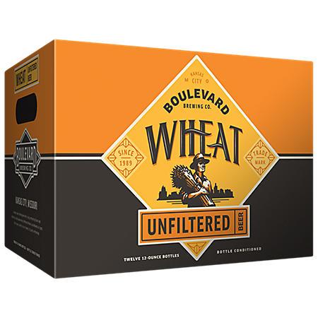 Boulevard Wheat Unfiltered Beer (12 fl. oz. bottle, 24 pk.)